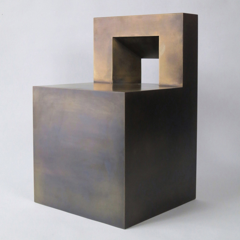 GV Bronze Chair by Johnathan Nesci