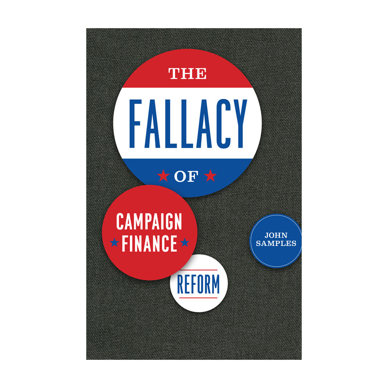 The Fallacy of Campaign Finance Reform cover by Isaac Tobin